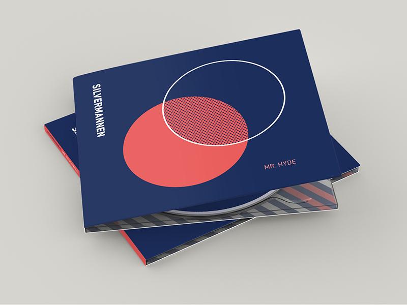Silvermannen / Mr. Hyde Single cd sleeve minimalistic electronic album cover art cd cover artwork single album sweden