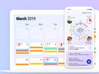 Day 56 - calendar app