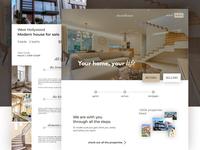 Day 60 - real estate website