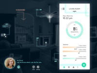 Day 75 - smart home assistant app