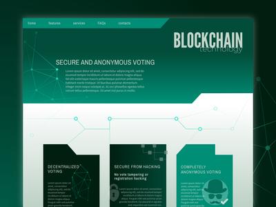 Day 89 - blockchain voting system