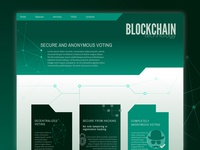 Day 89 - blockchain voting system