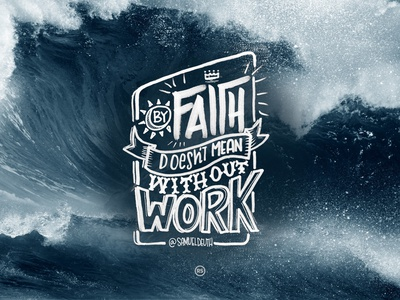 FAITH QUOTE • LETTERING