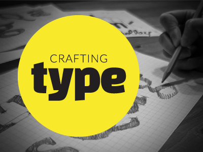 Crafting Type type circles photography yellow black  white