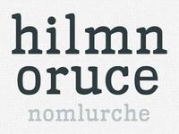 Bucko - My first typeface