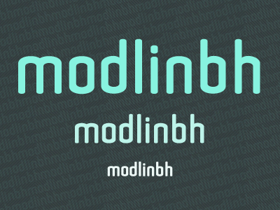 Noda Sans type font sans serif typography type design round geometric crafting type