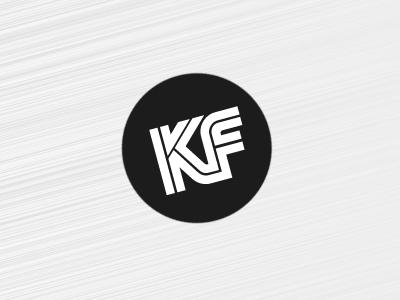 KF Wordmark logo wordmark dot black  white