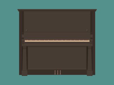 My Piano piano illustration