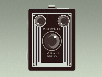 Brownie camera brownie kodak illustration