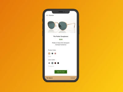 Custom Product UI Challenge