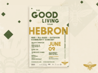 The Good Living Tour Poster