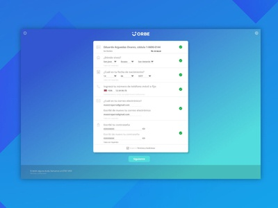 UX / UI design for forms