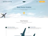 Plane Landing Page