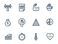 Stock Trading Icons