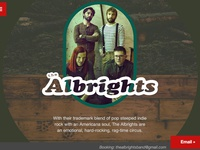 The Albrights Band Website