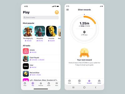 ⚡ android ios ui design uiux mobile app mobile ui ctypto