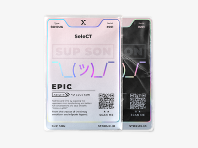 SeleCT x StormX NFTs trading card crypto crypto currency nft