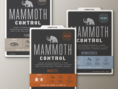 Mammoth Biocontrol Labels (Option 3)
