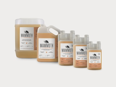 Mammoth Microbes Biocontrol Product Family