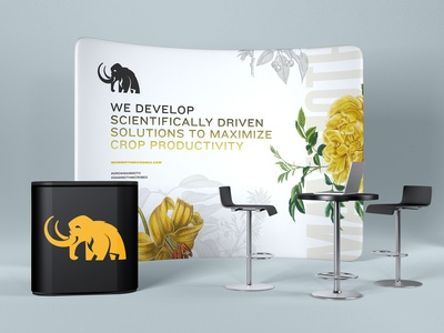 Mammoth Microbes Tradeshow  - Concept 1