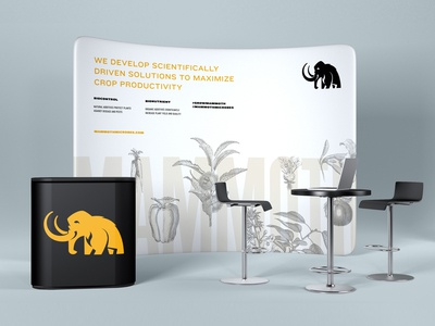 Mammoth Microbes Tradeshow  - Concept 2