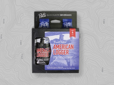 Pat's Back Country - American Logger 4Pack