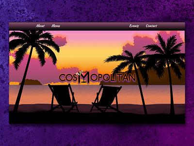 Cosmopolitan Concept jquery parallax svg css webdevelopment webdesign