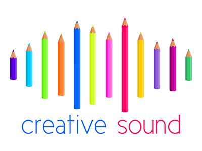 Creative Sound Logo logodesign logo illustration webdevelopment webdesign