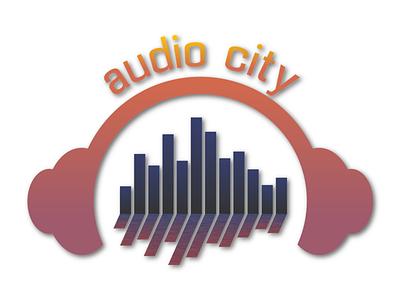 Audio City Logo Design logo logodesign