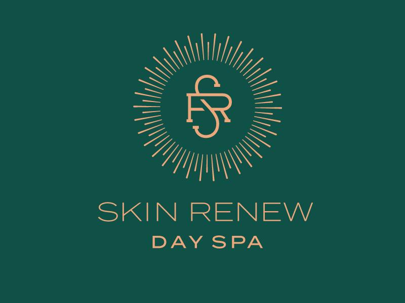 Skin Renew Logo day spa spa graphic design design identity branding logo