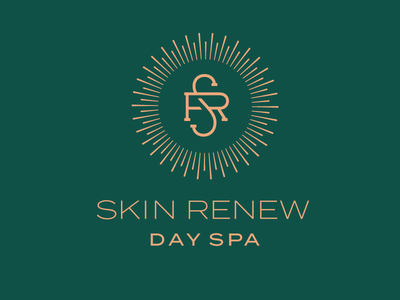 Skin Renew Logo day spa spa graphic design design identity branding logo