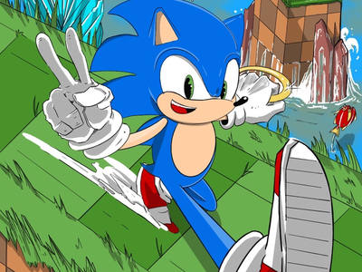Sonic the Hedgehog 🦔 sketchbook sonic the hedgehog creative doodle support local artists follow friends photo of the day like draw artist on dribble arts comic sketch graphic illustration comic art artwork artist art