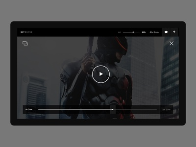Sky Drive Video Player