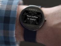Android Wear - Starbucks Notification