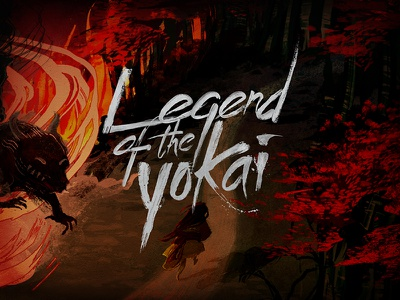 Legend of the Yokai art direction title art lockup title treatment turtles tmnt ninja turtles