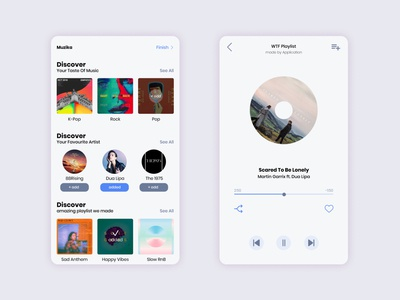 Muzika Music Player App pt.1