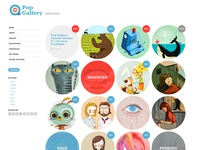 PopGallery Tumblr Theme
