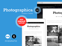 Photographica Tumblr Theme 1.3 Preview