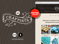 Craftista Tumblr theme preview image