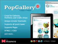 Preview image for PopGallery Tumblr Theme at TF