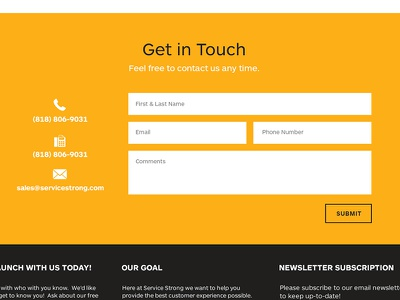 Contact  contact contact form form single page site