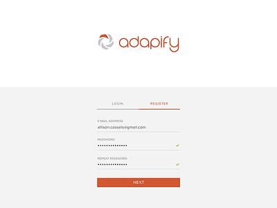 Daily UI #001 - Signup app ui form login sign up registration signup 001 dailyui