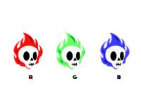 RGB Skulls