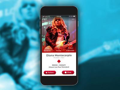 User Profile user profile daily ui 006 ux design uidesign ux ui app