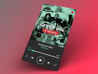 Music Player music player ui daily ui 009 app uxdesign ux ui uidesign