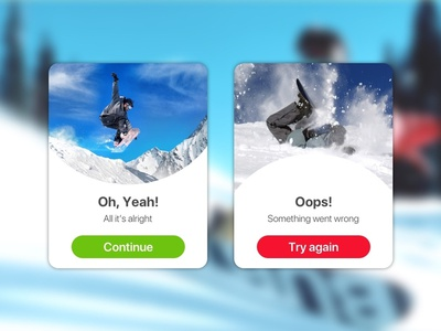 Flash Message (Error/Success) error message success message daily ui 011 web app uxdesign ui uidesign ux