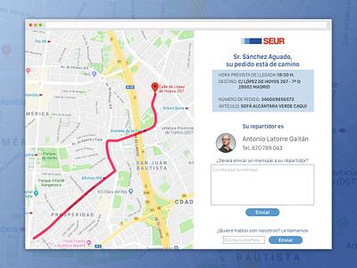 Location Tracker daily ui 020 location tracker web uxdesign ux ui uidesign