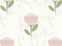 Protea Pattern 02