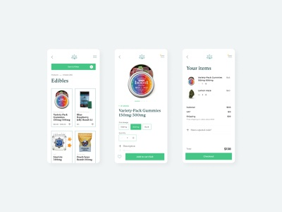 The High Keys Redesign shopify shop mobile app mobile ui userinterface uidesign online store ecommerce canada e-commerce ux cannabis ux design