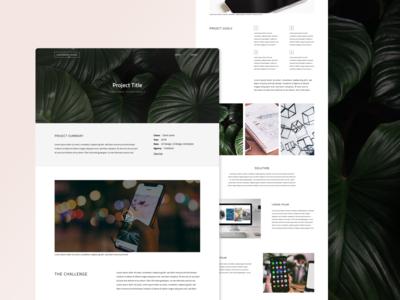UX Design Professional Portfolio